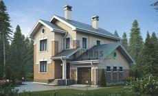 Проект бетонного дома 58-46