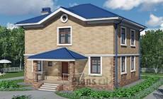 Проект бетонного дома 58-61