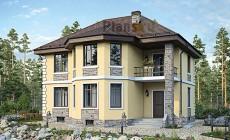 Проект бетонного дома 58-67