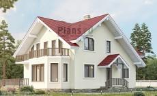 Проект бетонного дома 58-70