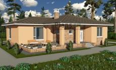 Проект бетонного дома 58-72