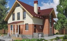 Проект бетонного дома 58-84