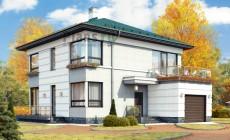 Проект бетонного дома 58-88