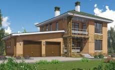Проект бетонного дома 58-93