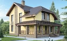 Проект бетонного дома 59-05