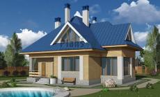 Проект бетонного дома 59-12