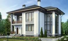 Проект бетонного дома 59-33