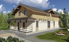 Проект бетонного дома 59-36