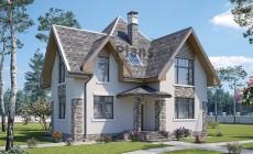Проект бетонного дома 59-63