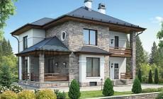 Проект бетонного дома 59-87