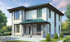Проект бетонного дома 59-96