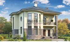 Проект бетонного дома 60-03
