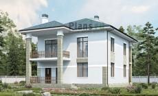 Проект бетонного дома 60-05