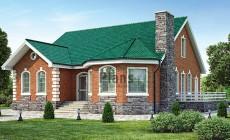 Проект бетонного дома 60-07