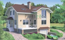 Проект кирпичного дома 70-31