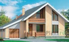 Проект кирпичного дома 70-35