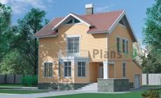 Проект кирпичного дома 70-38