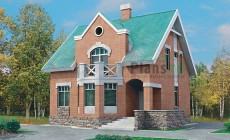 Проект кирпичного дома 70-39