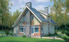 Проект кирпичного дома 70-41