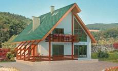 Проект кирпичного дома 70-46
