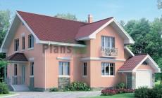Проект кирпичного дома 70-49