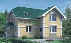 Проект кирпичного дома 70-50