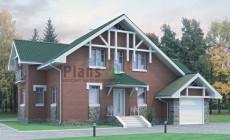 Проект кирпичного дома 70-51
