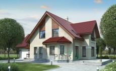 Проект кирпичного дома 70-59