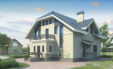 Проект кирпичного дома 70-62
