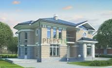 Проект кирпичного дома 70-66