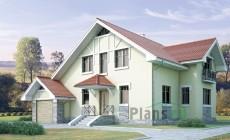 Проект кирпичного дома 70-68