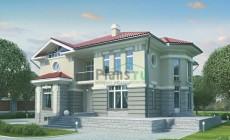Проект кирпичного дома 70-75