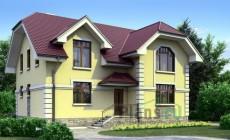 Проект кирпичного дома 70-85