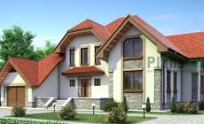 Проект кирпичного дома 70-87