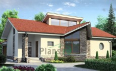 Проект кирпичного дома 70-93