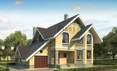 Проект кирпичного дома 71-09
