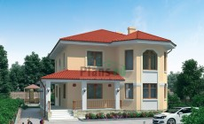 Проект кирпичного дома 71-10