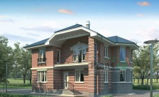 Проект кирпичного дома 71-11