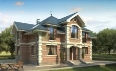 Проект кирпичного дома 71-13