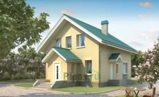 Проект кирпичного дома 71-14