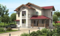 Проект кирпичного дома 71-16