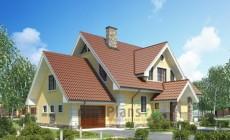 Проект кирпичного дома 71-22