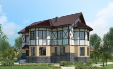 Проект кирпичного дома 71-26