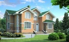 Проект кирпичного дома 71-33