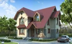 Проект кирпичного дома 71-39