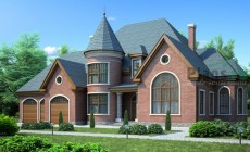 Проект кирпичного дома 71-40