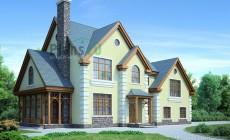 Проект кирпичного дома 71-43