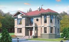 Проект кирпичного дома 71-48