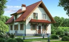 Проект кирпичного дома 71-59