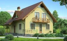 Проект кирпичного дома 71-60
